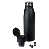 View Extra Image 1 of 3 of Vacuum Bottle with Wireless Bluetooth Ear Buds - 20 oz. 24 hr