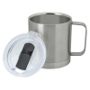 View Extra Image 1 of 2 of Vacuum Camper Metal Mug - 14 oz. - Laser Engraved