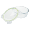 View Image 2 of 3 of Glass Food Storage with Lid - Round
