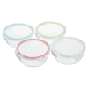 View Extra Image 2 of 2 of Glass Food Storage with Lid - Round