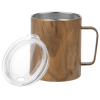 View Extra Image 1 of 1 of Lodge Vacuum Mug - 12 oz. - Wood