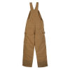 View Extra Image 1 of 2 of Carhartt Duck Quilted Line Bib Overalls