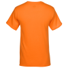 View Extra Image 1 of 2 of Hanes Workwear Pocket T-Shirt - Embroidered