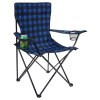 View Extra Image 1 of 4 of Northwoods Plaid Folding Chair