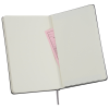"""View Image 3 of 4 of Moleskine Pro Hard Cover Notebook - 8-1/4"""" x 5"""" - Debossed - 24 hr"""