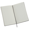 """View Image 4 of 4 of Moleskine Pro Hard Cover Notebook - 8-1/4"""" x 5"""" - Debossed - 24 hr"""