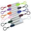 View Extra Image 2 of 4 of Telescopic Stainless Straw in Carabiner Case - 24 hr