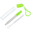 View Extra Image 3 of 4 of Telescopic Stainless Straw in Carabiner Case - 24 hr