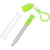 View Extra Image 4 of 4 of Telescopic Stainless Straw in Carabiner Case - 24 hr