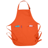 View Extra Image 1 of 1 of Harbor Two Pocket Bib Apron - Embroidered