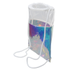 View Extra Image 1 of 1 of Iridescent Drawstring Sportpack