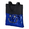 View Extra Image 1 of 3 of Mermaid Sequin Flip Tote