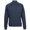 View Extra Image 1 of 2 of J. America Tri-Blend 1/4-Zip Pullover