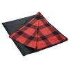 View Extra Image 2 of 4 of Buffalo Plaid Fleece Picnic Blanket