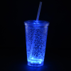 View Extra Image 1 of 7 of Cracked Ice Light-Up Tumbler with Straw - 16 oz. - 24 hr