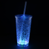 View Extra Image 7 of 7 of Cracked Ice Light-Up Tumbler with Straw - 16 oz. - 24 hr