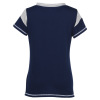 View Extra Image 1 of 2 of LAT Vintage Gameday Lace-Up T-Shirt - Ladies'