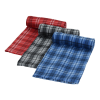 View Image 3 of 3 of Plaid Fleece Blanket - 24 hr