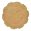 View Extra Image 1 of 2 of Shortbread Cookie - Full Color - Flower