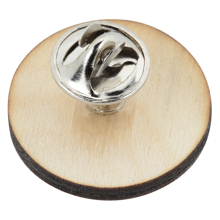 Wooden Pin Ladle Lapel Pin