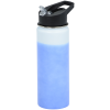 View Image 2 of 5 of Mood Stainless Bottle with Flip Straw Lid - 26 oz.