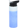 View Image 3 of 5 of Mood Stainless Bottle with Flip Straw Lid - 26 oz.