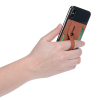 View Image 7 of 8 of Vienna RFID Phone Wallet with Finger Loop - 24 hr