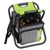 View Extra Image 1 of 4 of Koozie®  Backpack Cooler Chair - 24 hr