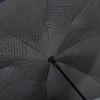 View Extra Image 2 of 5 of Heathered Auto Open Inversion Umbrella - 48 inches Arc
