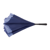 View Extra Image 3 of 5 of Heathered Auto Open Inversion Umbrella - 48 inches Arc