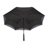View Extra Image 4 of 5 of Heathered Auto Open Inversion Umbrella - 48 inches Arc
