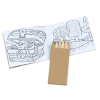 View Extra Image 1 of 2 of Kid's Coloring Book To-Go Set - General