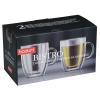 View Extra Image 2 of 2 of Bodum Double Wall Bistro Mug Set - 10 oz.