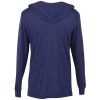 View Extra Image 1 of 2 of American Apparel Tri-Blend Hooded T-Shirt