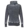 View Extra Image 1 of 2 of J. America Zen Cowl Neck Sweatshirt - Ladies'