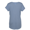 View Extra Image 2 of 2 of Alternative Slinky V-Neck T-Shirt - Ladies'