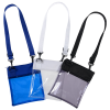 View Extra Image 1 of 1 of Tinted Clear Crossbody Bag - 24 hr
