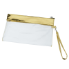 View Extra Image 1 of 4 of Instant Access Clear Wristlet Pouch