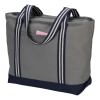 View Image 2 of 3 of Atlantic 20 oz. Cotton Zippered Boat Tote - Embroidered