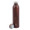 View Extra Image 1 of 1 of Manna Retro Vacuum Bottle - 20 oz. - Wood