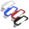 View Image 3 of 3 of Flat Carabiner Triple Keychain