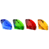 View Image 7 of 7 of Gemstone Crystal Paperweight