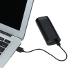 View Extra Image 1 of 6 of Light-Up Logo Power Bank with True Wireless Ear Buds - 24 hr