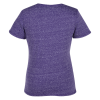 View Extra Image 1 of 2 of Jerzees Snow Heather Jersey T-Shirt - Ladies' - Embroidered