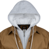 View Extra Image 2 of 4 of Dickies Hooded Duck Quilted Shirt Jacket