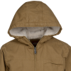 View Extra Image 1 of 3 of Dickies Sanded Duck Sherpa Lined Hooded Jacket