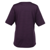 View Extra Image 1 of 2 of Stretch Heather V-Neck Top - Ladies' - 24 hr