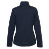 View Extra Image 1 of 2 of Eddie Bauer Heathered Sweater Fleece Jacket - Ladies'
