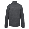 View Extra Image 1 of 3 of Eddie Bauer Heathered Sweater Fleece Jacket - Men's - 24 hr
