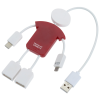View Extra Image 2 of 5 of TechMate Duo Charging Cable and USB Hub